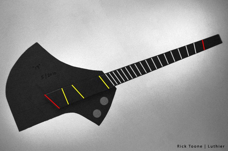Headless Ergonomic Fanned-Fret Guitar
