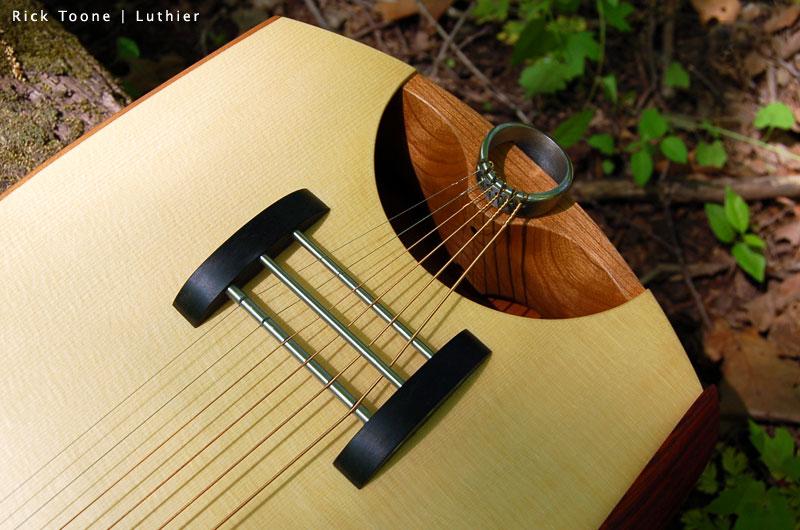 Headless Acoustic Guitar Acoustic Guitar Bridge