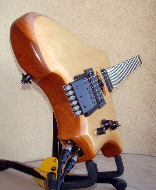 Headless Tuning Guitar