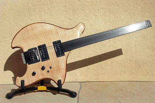 Fretless Equinox Guitar