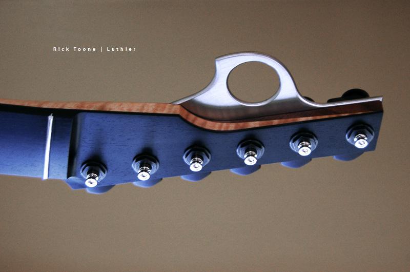 reversed guitar headstock
