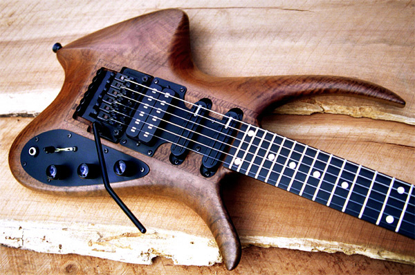 PHOTOS Completed In 1993 This Guitar Introduced A New Trend Ergonomic Body Shape Designs As You Look Around The Internet Will Notice How