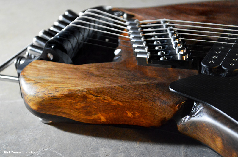 Eight-String-Guitar-Bridge