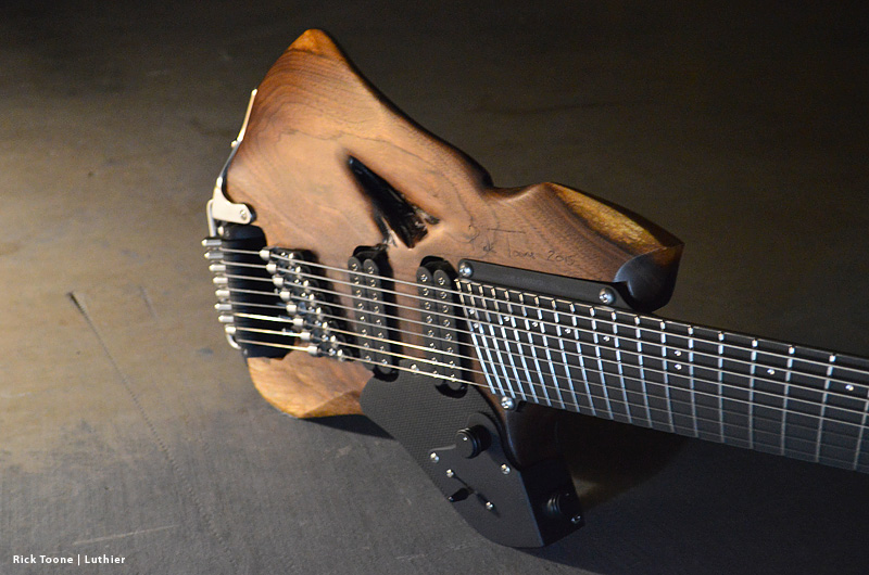 Walnut-Eight-String-Guitar